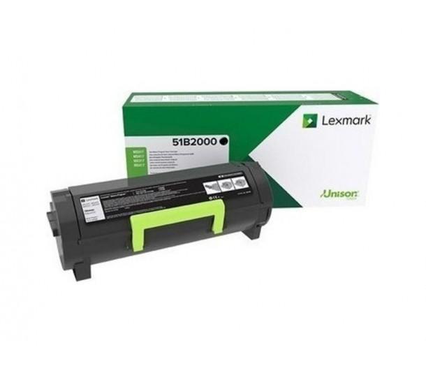 Toner Lexmark  MS317/417/517/617 MX317/417/517/617 (BLACK) 51B2000