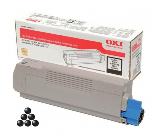 Toner OKI C332/MC363 (BLACK) 46508712