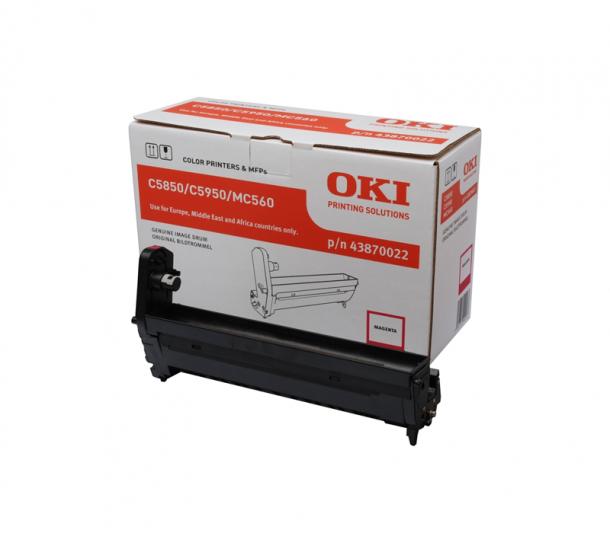Drum OKI C5850/C5950/MC560 (MAGENTA) 43870022